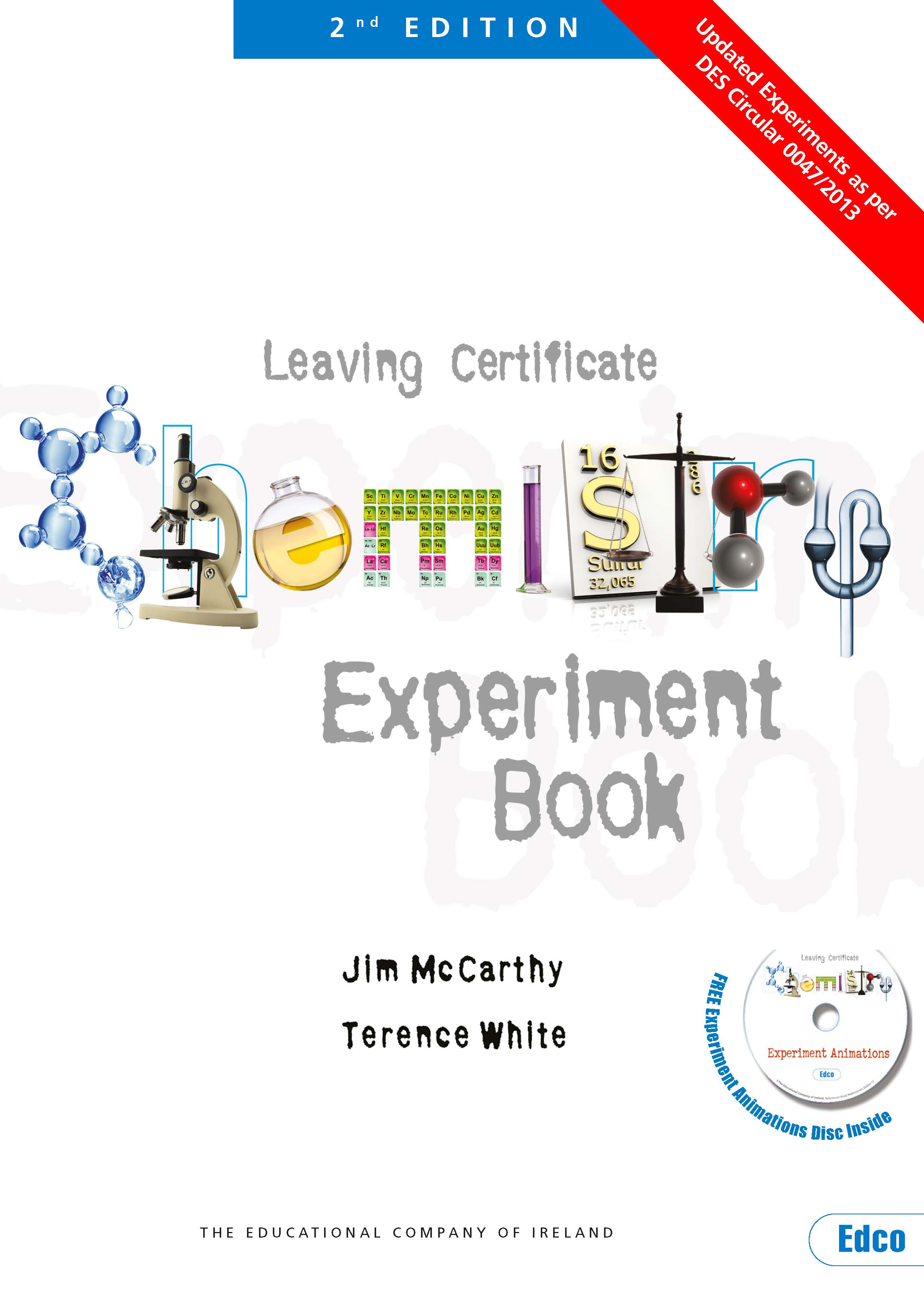 Chemistry Experiment Book Updated 2nd Edition