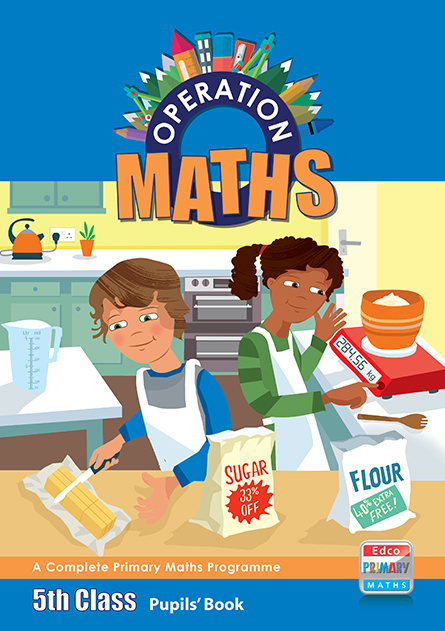 Book Cover School : Operation maths pupils book